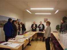 Přivítání komise představiteli obce azaměstnanci OÚ