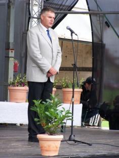 Předseda SPOV Eduard Kavala