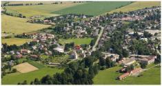 Letecké záběry obce- 2011