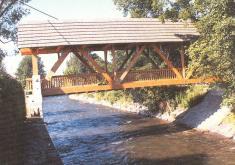 Dřevěný most - Vikýřovice - Rapotín