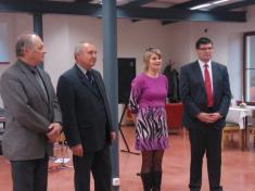 Zprava: Alois Mačák, Alena Turková,  Drahomír Babnič, Václav Mazánek